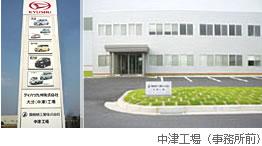 葵機械工業株式会社中津工場さま