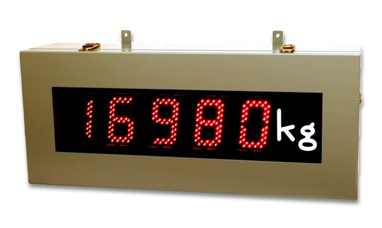 大型7セグメント表示器 (ナンバーボード)