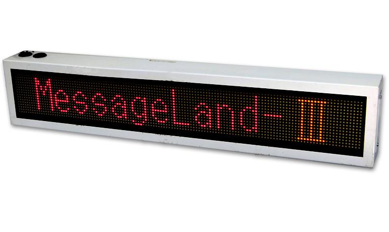 LED文字表示器 屋内用 (メッセージランドⅢ)